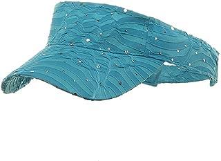 Glitter Visor-Turquoise