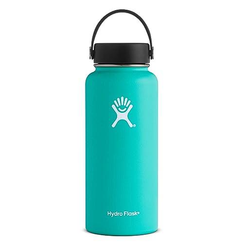 Hydro Flask W32TS435 Mouth 32 oz. Wide Water Bottle, 946 ml, Mint