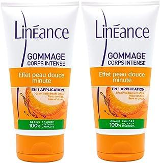 Linéance - Gommage Corps Intense - Peau Tonifiée et Lissée - 100% d'origine naturelle - 150 ml - Lot de 2