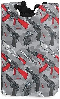 N\A Organisateur Pliable de Panier de Rangement de Linge - Équipement d'arme terroriste Militaire Panier à Linge pour Cham...