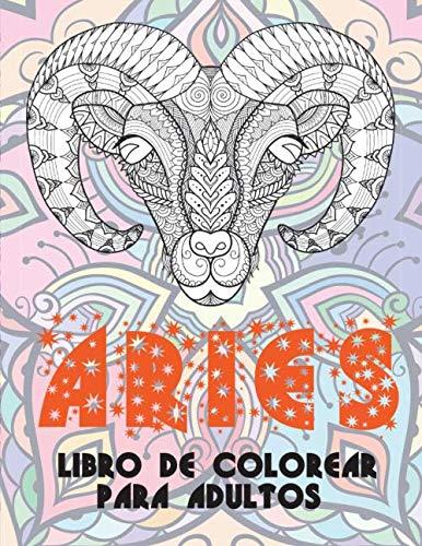Aries - Libro de colorear para adultos