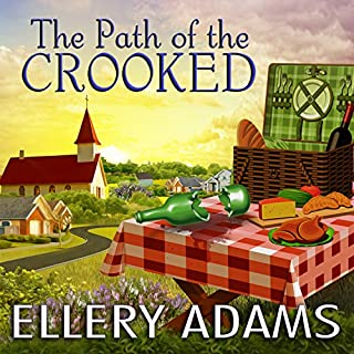 The Path of the Crooked     Hope Street Church Mysteries Series #1              By:                                                                                                                                 Ellery Adams                               Narrated by:                                                                                                                                 Cris Dukehart                      Length: 7 hrs and 54 mins     156 ratings     Overall 4.2