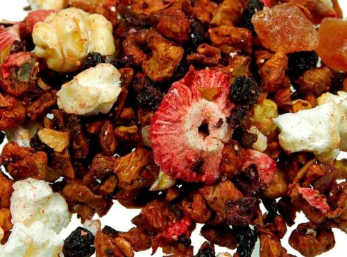 Früchtetee magenmild Erdbeer Popcorn - loser Tee 100 gr