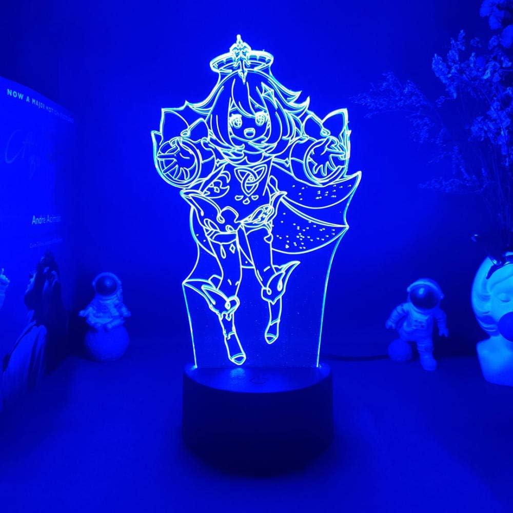 3D Anime Night Light Gaming Room Desktop Backlight PC Las Vegas Mall Be Soldering Kids