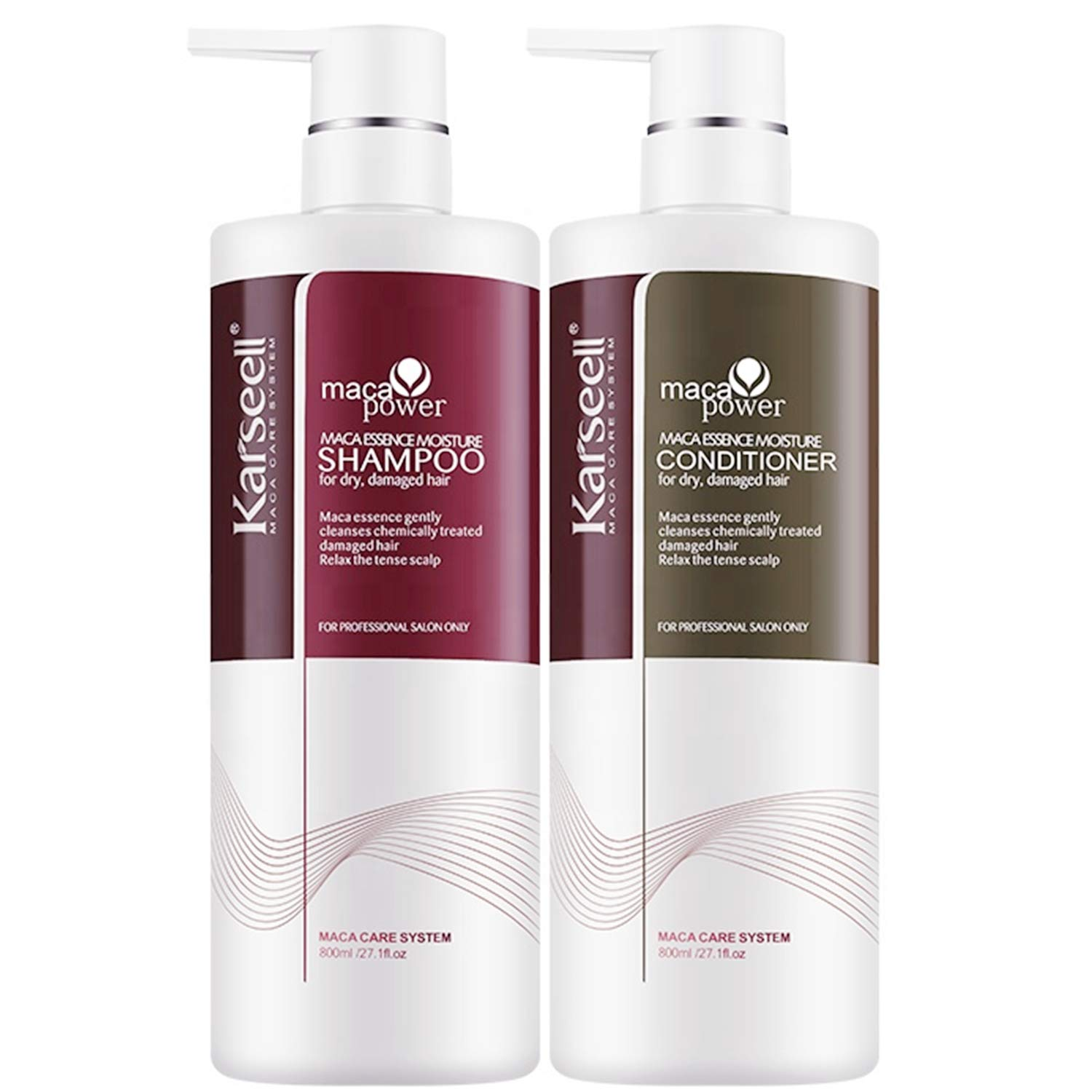 Shampoo and Factory outlet Conditioner Set Moisturizing Oil Essence Treat Credence Argan
