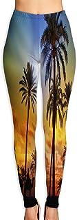 Cyloten Gold, Frankincense and Myrrh Yoga Pants Vivid Printed Women's Non-Fading Sportswear High Elastic Leggings