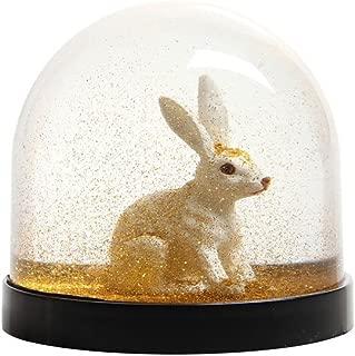 Best white rabbit snow globe Reviews