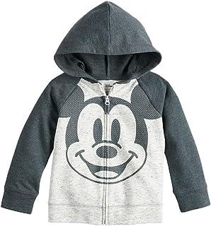 9cba80f46 Disney Mickey Mouse Hoodie Jacket Zip Hoodie Baby Boy Gray