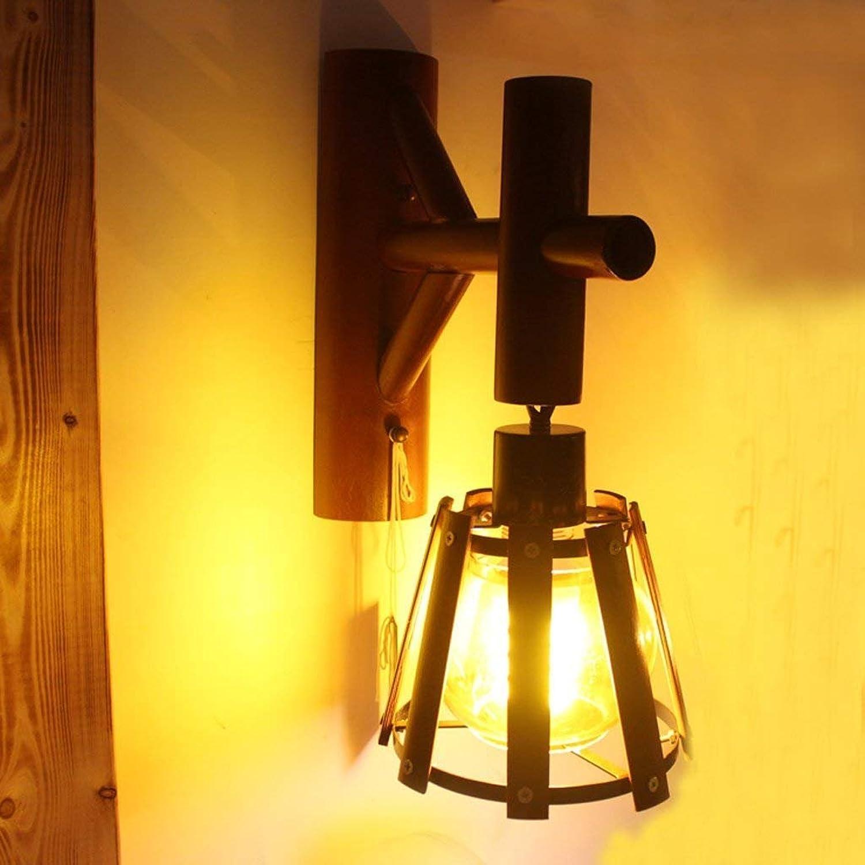DSJ Retro Einfache Persönlichkeit Kreative Wandleuchte Studie Studie Studie Lampe Restaurant Lampe Antiken Bar Lichter Wohnzimmer Lichter B07G22F2LD | Clever und praktisch  9fc9d4