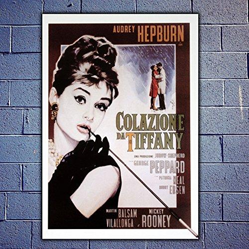 Movie Poster Colazione da Tiffany Size:35x50 CM