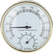HERCHR Kamer Thermometer Hygrometer Sauna Thermometer Dual Pointer Wandmontage voor Sauna Kamer Badkamer