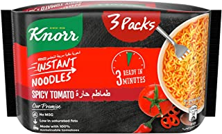 Knorr Instant Noodles Spicy Tomato, 67 gm (Pack of 3)