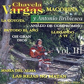 Chavela Vargas y Antonio Bribiesca, Vol. III