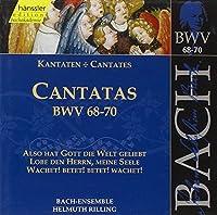 Bach: Cantatas, BWV 68-70 (Edition Bachakademie Vol 22) /Rilling by Johann Sebastian Bach (1999-10-19)