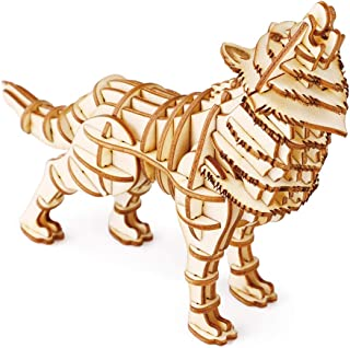 Best wooden wolf puzzle Reviews