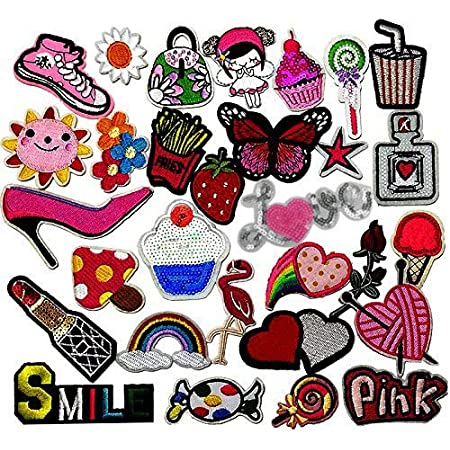 Iron on Embroidered Patch  Accessories 2x Pieces