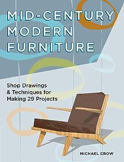 woodworking plans mid century modern