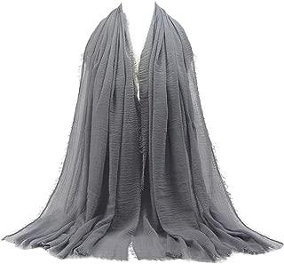 Hot Sale!!! Scarf Scarves,Jushye Fashion Premium Viscose Maxi Crinkle Cloud Hijab Scarf Shawl Soft Islam Muslim