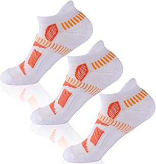 HAPYCEO Hidden Contour Athletic Running Socks for Men and Women, 1/3/4/6 Pairs