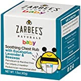 Zarbee's Naturals Baby Soothing Chest Rub with Eucalyptus, Lavender & Beeswax, 1.5 Ounce...