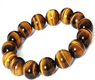 Natural Tiger Eye Gem Beads Tibetan Buddhist Prayer Mala Bracelet 10mm