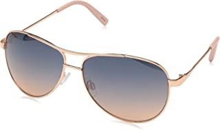 J106 Metal Aviator Sunglasses with 100% UV Protection, 60 mm