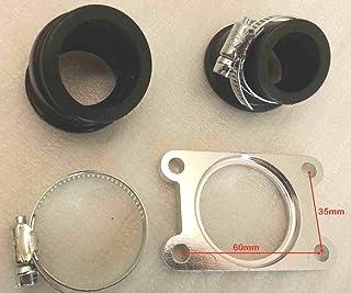 Fydun Collettore di aspirazione carburatore per alluminio CX500 1978-1982 2PCS