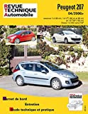E.T.A.I - Revue Technique Automobile B724.5 - PEUGEOT 207 - 2006 à 2017