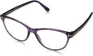 Tom Ford Brille FT5402 080 54 Monturas de gafas, Morado (Lila), 54.0 para Mujer