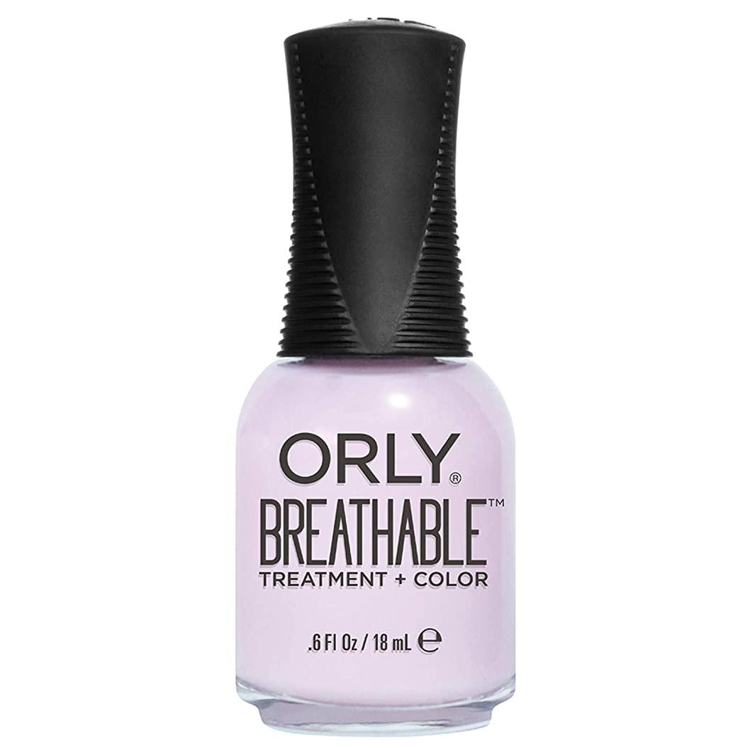 アンカー国勢調査パックOrly Breathable Treatment + Color Nail Lacquer - Pamper Me - 0.6oz / 18ml