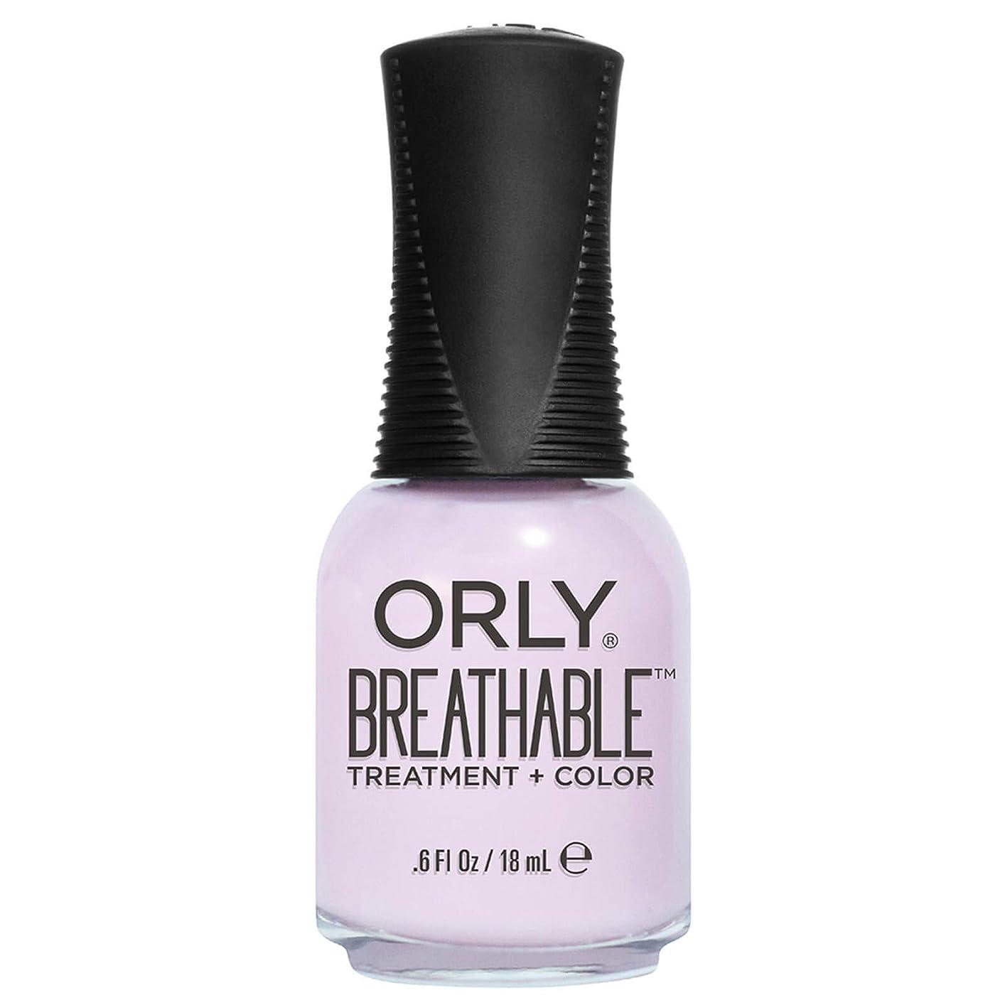 以降文プロポーショナルOrly Breathable Treatment + Color Nail Lacquer - Pamper Me - 0.6oz / 18ml