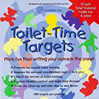 Toilet Targets for Boys by Quabbin