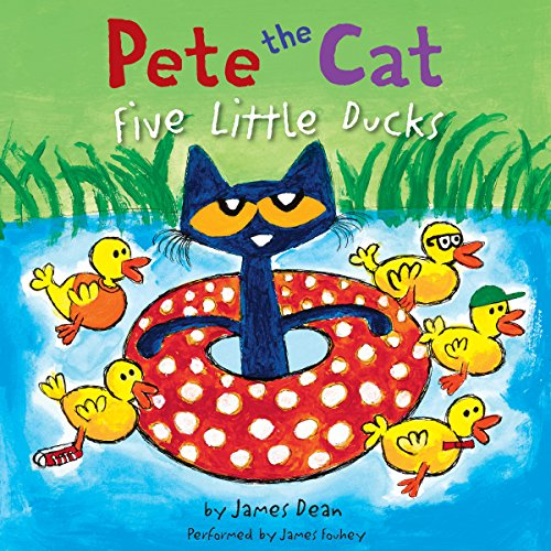 Pete the Cat: Five Little Ducks audiobook cover art