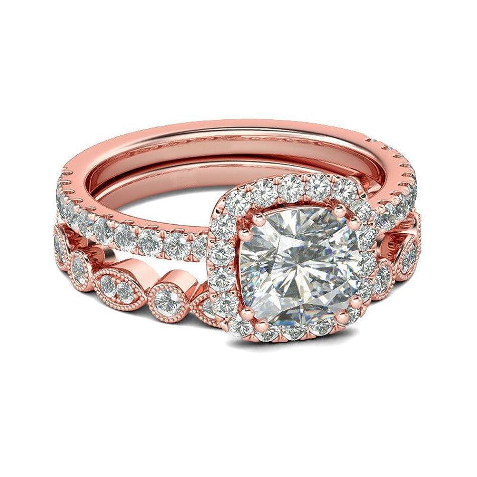 Gyoume Opal Ring,Women Creative Ring Set Hand Jewelry Diamond Finger Ring Wedding Ring Engagement Gift