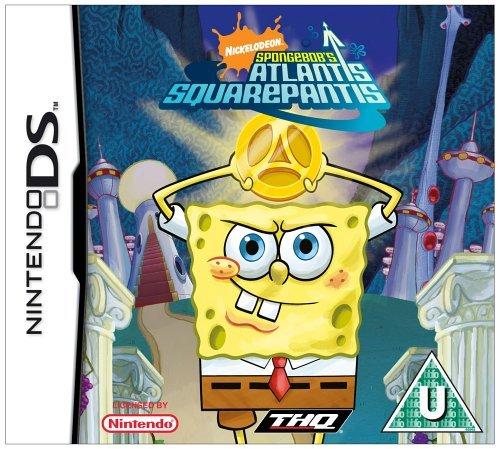 [Import Anglais]Spongebob SquarePants Atlantis Squarepantis Game DS