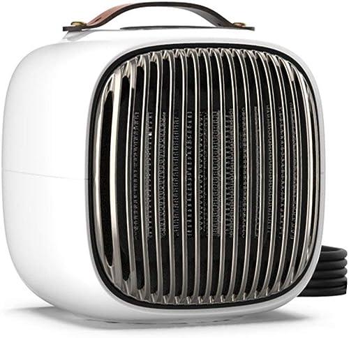 ChaRLes 220V 1000W Portable Air Heater Fan Warmer schwarz Weiß rot Orange Overheat Protection - Weiß