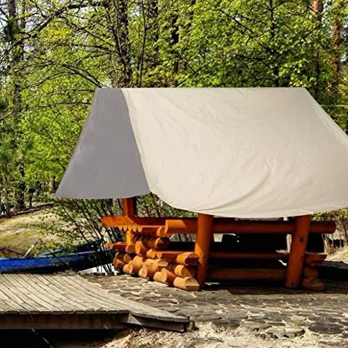 Sonnenschutz Swingset Shade Außenschaukel Baldachin Kinderspielplatz Dach Baldachin Wasserdichte Yard Sitzbezug Ersatzplane(Beige)