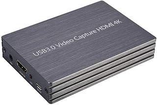محول التقاط الفيديو axGear HDMI إلى USB3.0 4K بطاقة دونجل 1080P لجهاز Linux Windows Mac
