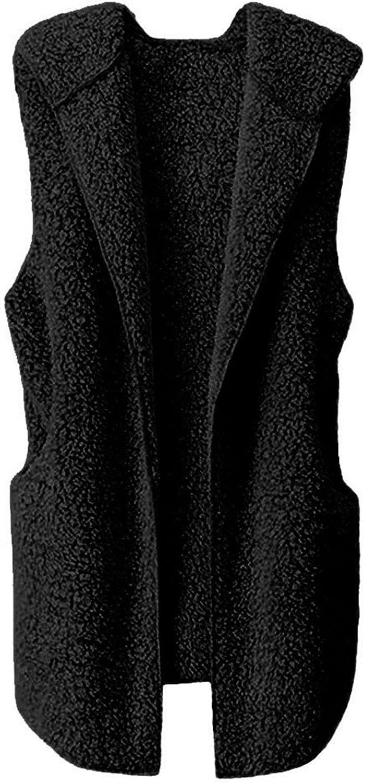 Faux Fur Rare Vest Womens Thicken Winter It is very popular Warm Outwear Vests Fleec Fit
