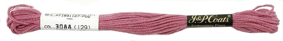 Coats Crochet 6-Strand Embroidery Floss, Mauve, 24-Pack