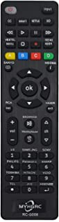 MYHGRC Mando Universal TV Apto para Sony/TCL/Hisense/JVC/RCA/Sharp/Sanyo/Toshiba/Hitachi/Samsung/Philips/Panasonic Smart TV- No Requiere configuración Control Remoto Universal de TV