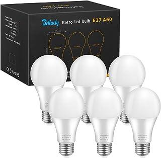 E27 LED Lampe, 12W A60 LED Birne, Ersetzt 100W Glühlampe, 1200 Lumen, Warmweiß 3000K, 280° Abstrahlwinkel, Edison Schraube...