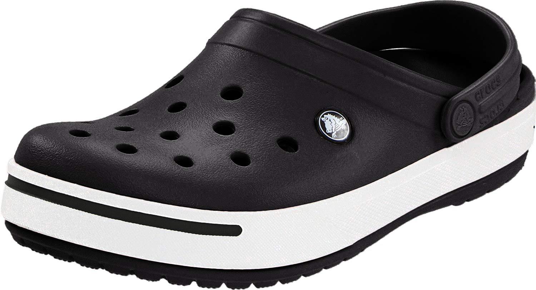 Adulto 42//43 EU Crocs Crocband Clogs Ciabatte Unisex Blu Navy