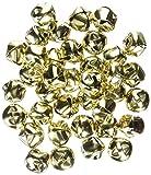 retailsource–Campane di jingle per Vacanze, color Oro, 48pezzi 144 Bells