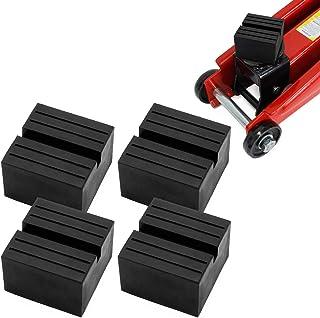 Miafamily Rubberen pad voor autokrik, 75 x 75 x 25 mm (4 stuks)