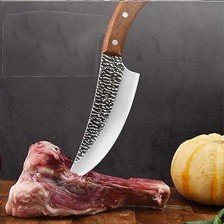 JTXQSAN 5 6 7 Pouces Survie Camping Serbe Chasse Couteau de Chef Forged tranches désosser Couteau de Cuisine Pleine Tang M...