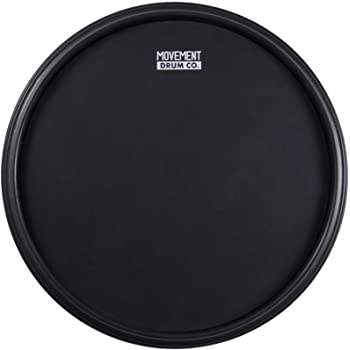 The 12-inch Double Sided Premium Practice Drum Pad, 4-in-1 Laminate + Conditioning - Fully Rimmed With Four Different Hitting Surfaces, The Most Versatile Drum Practice Pad In The Market