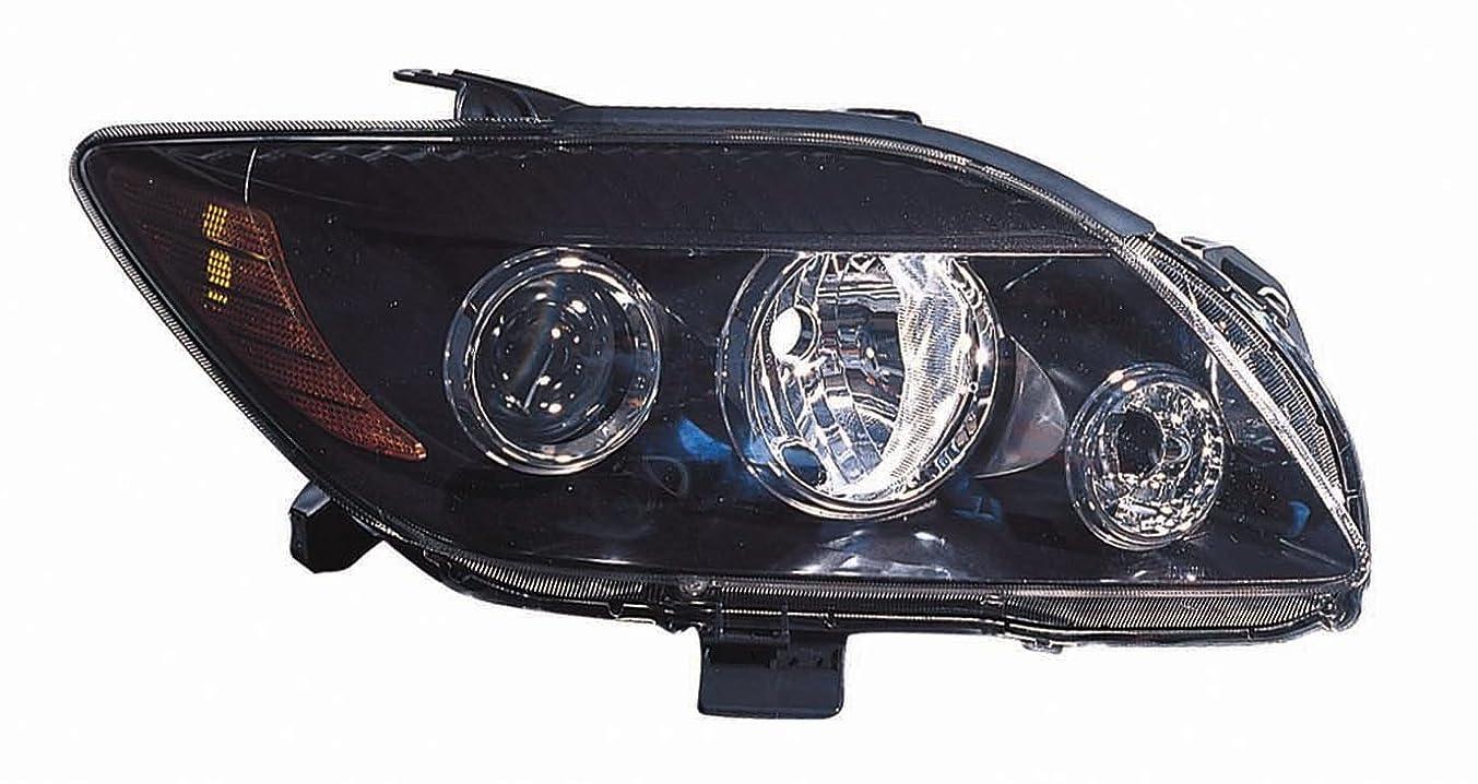 Depo 312-11A7R-UC2 Scion tC Passenger Side Headlamp Lens Housing
