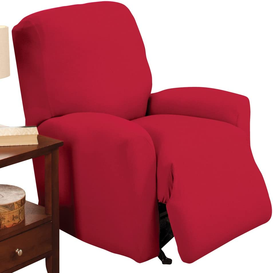 Collections Etc Jersey Stretch Re Limited time for free shipping Protector sale Slipcover Furniture