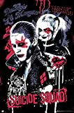 Close Up Suicide Squad Poster Joker und Harley Quinn (61cm